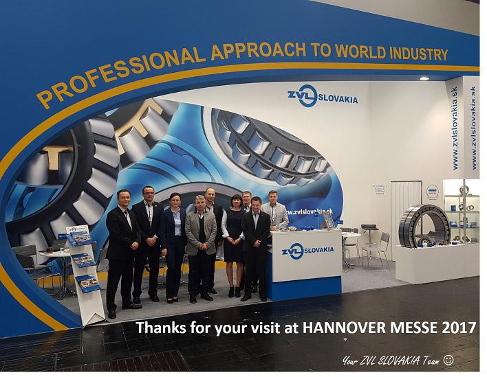Ďakujeme za návštevu na Hannover Messe 2017